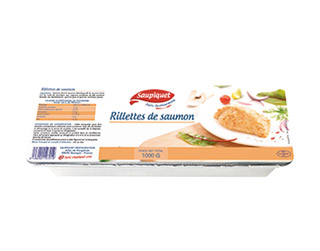 Saupiquet Furic Restauration : Rillettes de saumon